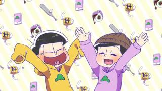 getlinkyoutube.com-【手描きおそ松さん】五男と六男でグッキーダンス【おそ松さん】