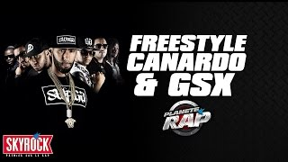 Canardo & GSX - Freestyle dans Planète Rap
