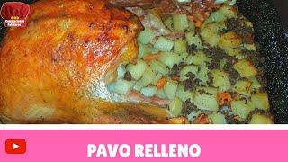 getlinkyoutube.com-PAVO al HORNO receta (Colaboracion Recetas NAVIDEÑA)- Complaciendo Paladares