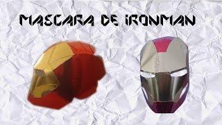 getlinkyoutube.com-Monkey DIY: Como hacer la máscara de Iron man