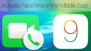 getlinkyoutube.com-(iOS9) How to activate Facetime in the Middle East On iOS9/iOS8