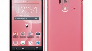 getlinkyoutube.com-スマートフォン for ジュニア SH-05E 開封