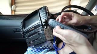getlinkyoutube.com-【ゼロクラウン】VTRアダプターを使って車内で音楽プレイヤーを聞く【クラウン#9】