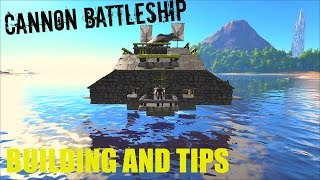 getlinkyoutube.com-CANNON Battleship - Cannon Guide and Tips - ARK:Survival Evolved