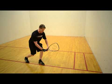 Hit a Killer Drive Serve in Racquetball