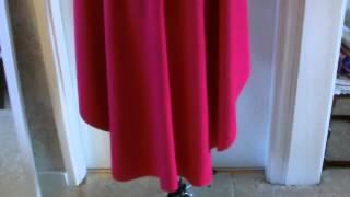 getlinkyoutube.com-Disney Anna Main cape tutorial part 1 of 2