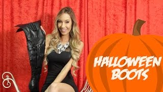 getlinkyoutube.com-Thigh High Boots To Go With Your Halloween Costume!