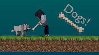 getlinkyoutube.com-More Dogs in 1 Command Block [Minecraft]