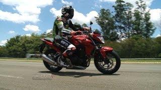 Honda CB 500F no Moto+