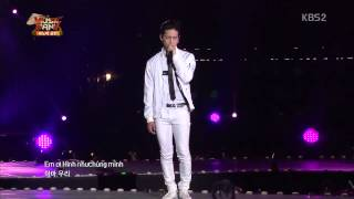 getlinkyoutube.com-Yeu Lai Tu Dau Music Bank Hanoi 2015_ Key,JB,Chunji