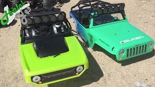getlinkyoutube.com-Axial SCX10 Deadbolt VS Axial SCX10 Falken Don't waste $50