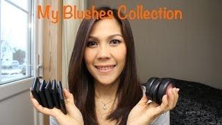 getlinkyoutube.com-My Blushes Collection. ที่ปัดแก้มในกรุเครื่องสำอางค์คะ