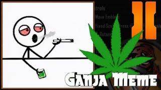 getlinkyoutube.com-Black Ops 2 - Ganja Meme Emblem Tutorial (custom)