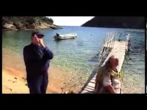 Captain Panos plays his Harmonica @ Sarakiniko Beach, Ithaca