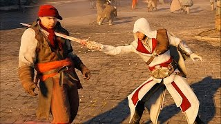 getlinkyoutube.com-Assassin's Creed Unity Rampage with Ezio`s Outfit