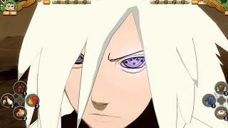 getlinkyoutube.com-Naruto Shippuden Ultimate Ninja Storm 3 Full Burst MODS Madara Rikudou Sennin (New Moveset) vs Gai
