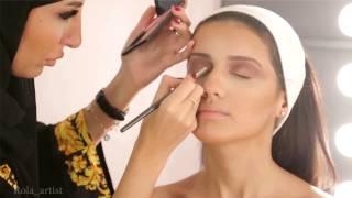 getlinkyoutube.com-bride makeup 2015 Rola Alghoul مكياج العروس 2015 رولا الغول