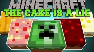getlinkyoutube.com-Minecraft: THE CAKE IS A LIE (DEADLY AND EPIC CAKES!) Cake is a Lie Mod Showcase