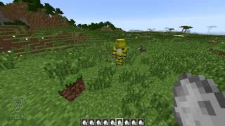 getlinkyoutube.com-Minecraft Mod Review - Five Nights at Freddy's And Damage Indicators Mod