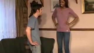 Tall women short man