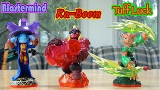 getlinkyoutube.com-Skylanders Trap Team - Wave 3 Trap Masters: Blastermind, Ka-Boom, and Tuff Luck! Unboxing
