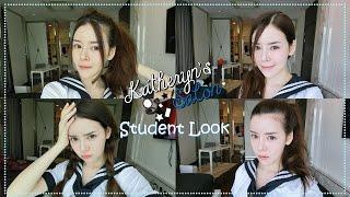 getlinkyoutube.com-KATHERYN LEE MAKE UP ♥ STUDENT LOOK (แต่งหน้าไปโรงเรียน)