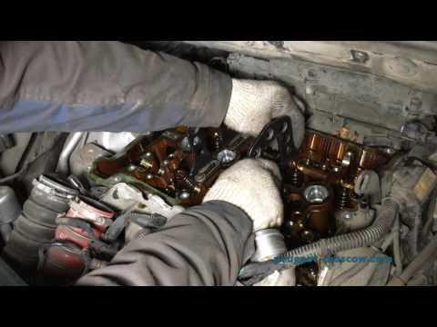 Замена цепи ГРМ и колпачков CITROEN C4 Picasso, мотор EP6DT