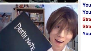 getlinkyoutube.com-Death Note Omegle Prank