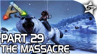 getlinkyoutube.com-SAVING OUR STRONGEST DINO, The Massacre... - ARK Survival Evolved PS4 PRO Gameplay Part 29