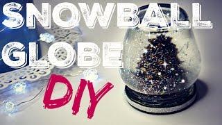 getlinkyoutube.com-SNOWBALL GLOBE ❆ DIY ❆