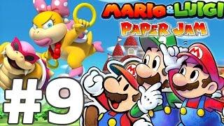 getlinkyoutube.com-ROY ET WENDY KOOPA - MARIO & LUIGI PAPER JAM BROS Episode 9 FR Nintendo 3DS & 2DS