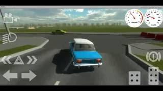 "getlinkyoutube.com-""Russian Classic Car Simulator"" for Android - demonstration"