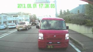 getlinkyoutube.com-DQN郵便配達車!!!! 穂高郵便局より〜