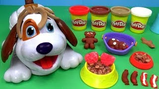 getlinkyoutube.com-Play-Doh Puppies Playset, Play Dough Cute Puppies
