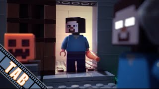getlinkyoutube.com-LEGO Minecraft: The Unpopular Tale of Herobrine (Stop-Motion Animation)