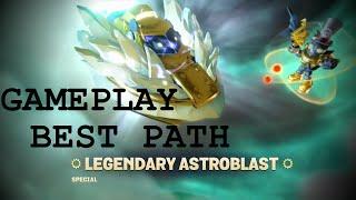 getlinkyoutube.com-Skylanders SuperChargers - Legendary Astroblast and Sun Runner GAMEPLAY //BEST PATH