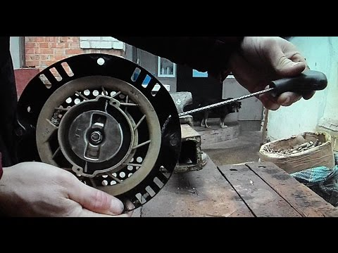 Ремонт кикстартера мотоблока