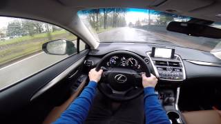 getlinkyoutube.com-Lexus NX 300h POV test drive GoPro
