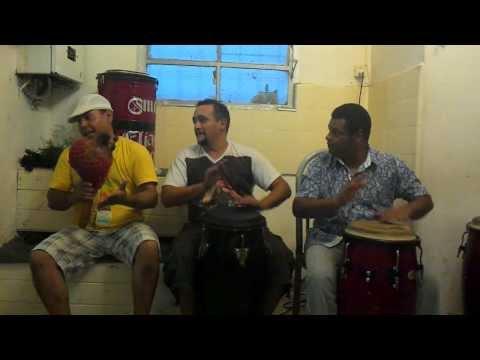 Marcos de Xango,Dario de bara y Maxi de oxala