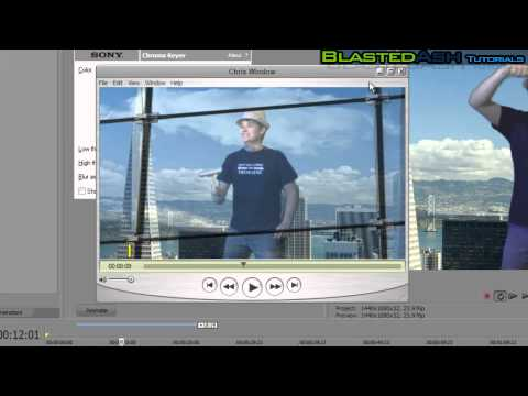 How to Chroma Key in Sony Vegas Pro 10 & After Effects Cs5 [Tutorial]