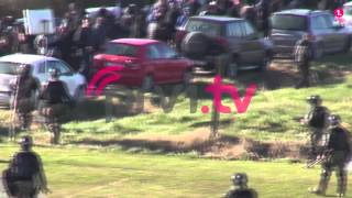 Torcida Split in Fight with police 16.01.2015