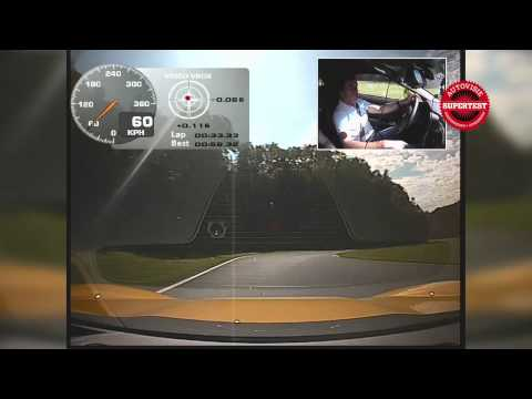 Autovisie Supertest 2011: Fastest lap Corvette Z07 (Z06 Performance Package)