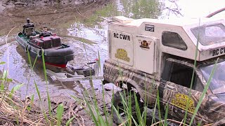 getlinkyoutube.com-RC CWR Swamp Boat Bayou