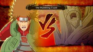 Naruto Shippuden: Ultimate Ninja Storm 3: Gedo Mazo vs Choji Boss Battle