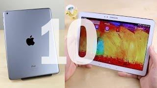 getlinkyoutube.com-10 Advantages iPad Air vs. Galaxy Note 10.1
