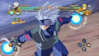 getlinkyoutube.com-Naruto Ultimate Ninja Storm 3 Full Burst Kakashi Hatake Custom Moveset Mod Gameplay (PC)