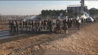 درگیری بین کردها و نیروهای امنیتی ترکیه در مرز سوریه