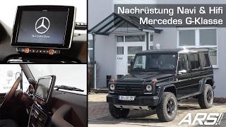 Mercedes G-Klasse G Professional MJ 2016 2017 OEM Look Nachrüstung Navigationssystem und Hifi Anlage