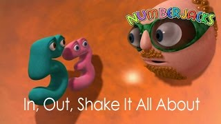 NUMBERJACKS | In Out Shake It All About | S1E4