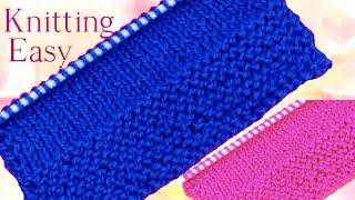 getlinkyoutube.com-Como tejer con dos agujas paso a paso desde cero